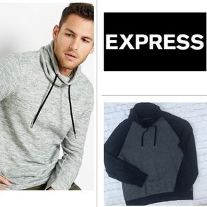 Express Men's Funnel Neck Sweater Pullover